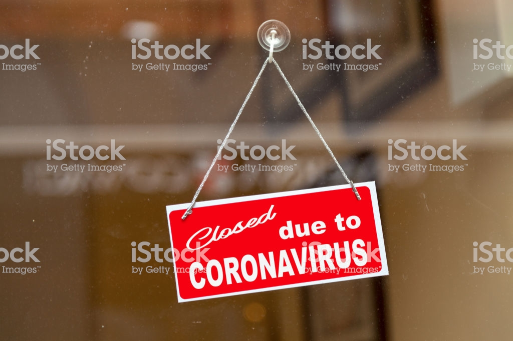 Coronavirus update in these difficult times